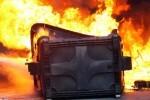La Policía Local de Valencia detiene a un pirómano por quemar varios contendores.