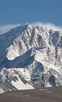 La montaña Shisha Pangma.