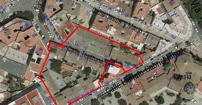 Las obras permitirán la apertura de tapones urbanísticos y la regeneración de un área de más de 5.000 metros cuadrados.