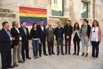 Les Corts por la igualdad, la libertad y contra la LGTBfobia.