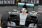Lewis Hamilton logra el triunfo en el Gran Premio de Mónaco.