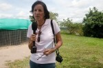 """Undated file picture of Spanish journalist Salud Hernandez, columnist for the Colombian newspaper El Tiempo and correspondent for the Spanish newspaper El Mundo, who went missing in El Tarra, Colombia on May 21, 2016.  The Colombian armed forces began to search on May 22, 2016 for Spanish journalist Salud Hernandez after her alleged disappearance while on assignment in the municipality of El Tarra, Norte de Santander department, in the Catatumbo area, where guerrilla groups and criminal gangs are active.  / AFP PHOTO / AFP or licensors / Alejandra Vega HO / RESTRICTED TO EDITORIAL USE - MANDATORY CREDIT """"AFP PHOTO /EL TIEMPO / ALEJANDRA VEGA"""" - NO MARKETING - NO ADVERTISING CAMPAIGNS - DISTRIBUTED AS A SERVICE TO CLIENTS"""