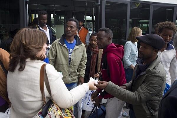 25/05/2016Madrid, EspañaLlegada a Madrid de refugiados procedentes de GreciaFotografías: Diego Crespo / Presidencia del Gobierno