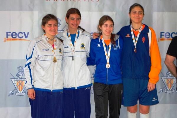 Los Jocs Esportius de la Comunitat Valenciana dejan ocho medallas para el Esgrima Marítim.