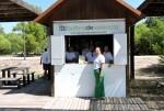 Los puntos de información del Parque Natural de la Albufera atienden a cerca de 400 personas en un mes.