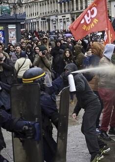 Los sindicatos franceses que se oponen al proyecto de ley de reforma del mercado laboral.