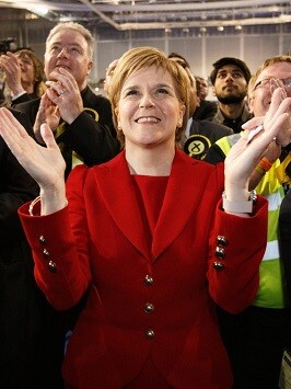 Nicola Sturgeon, líder del SNP.