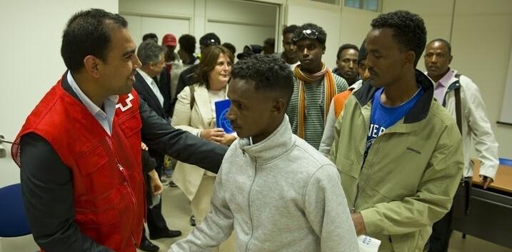 Nueve de los refugiados serán acogidos en Guipúzcoa, 3 en Madrid y 10 en Tarragona.