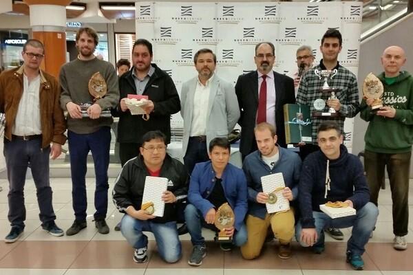 Open Internacional de Ajedrez Nuevo Centro 2016.
