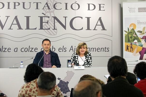 """Pilar Moncho """"La nueva Fira de les Comarques es la voz del turismo valenciano de interior y también de costa"""", (Foto-Abulaila)."""