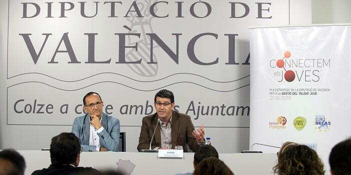 Presentación del Plan Gestió de Talent Jove. (Foto-Abulaila).