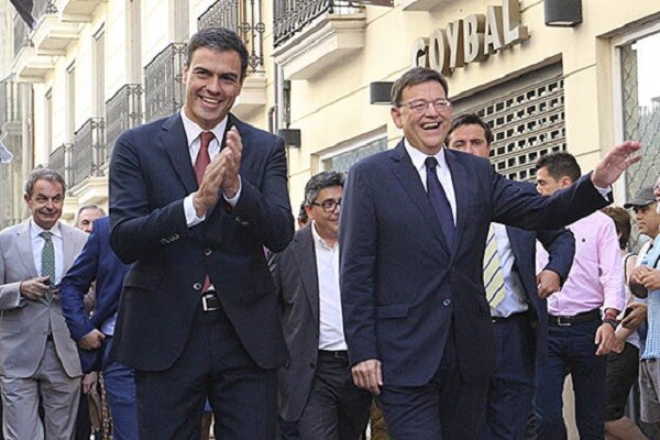 Puig defiende que la candidatura conjunta al Senado no es una 'una rebelión en el PSOE'. (Foto-PSOE-PSPV).