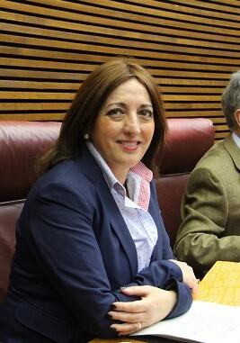Rosa García, diputada de Ciudadanos en Les Corts.