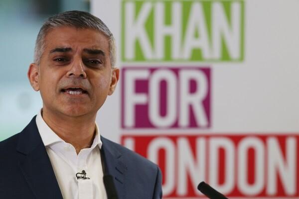 Sadiq Khan, del partido laborista, es ya el primer alcalde musulmán de Londres.