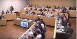 Sala durante ponencias