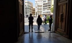 Santo Domingo de los dominicos, Plaza de Tetuán de Valencia Capitanía General de Valencia,  Cuartel General Terrestre de Alta Disponibilidad (CGTAD) 20160521_123308 (33)
