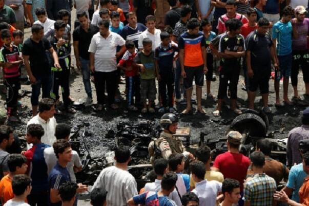 Se eleva a 50 la cifra de muertos por el atentado en Bagdad asumido por el Estado Islámico.