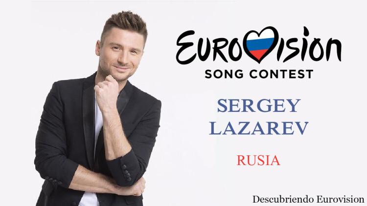 Sergey Lazarev Rusia Eurovision