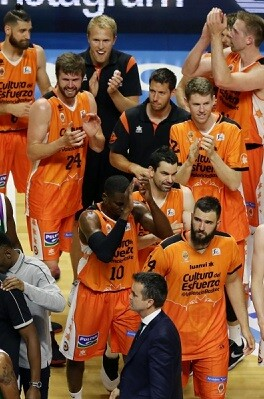 Tercera semifinal consecutiva para el Valencia Basket.