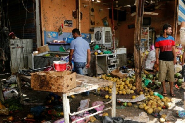 Una ola de atentados alrededor de Bagdad deja al menos 54 víctimas.