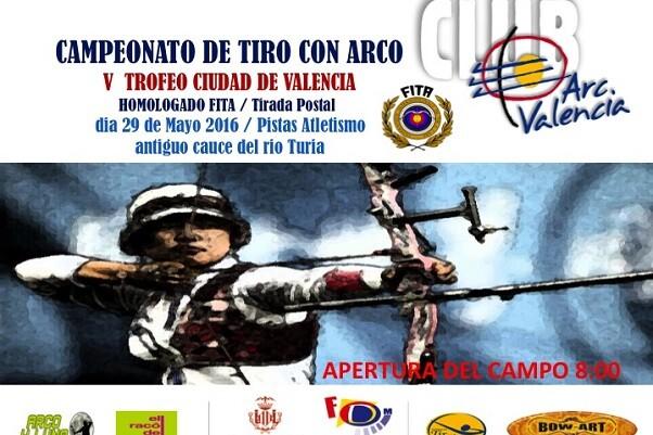 V Trofeo Ciudad de Valencia de Tiro con Arco.