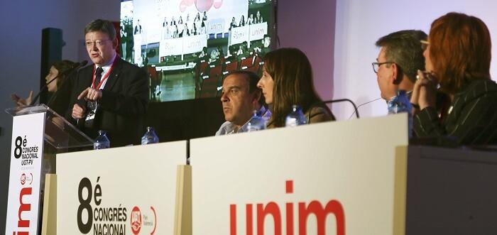 Ximo Puig durante su intervención.