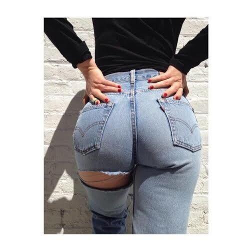 pantalones rotos por el culo vaqueros jeans (1)