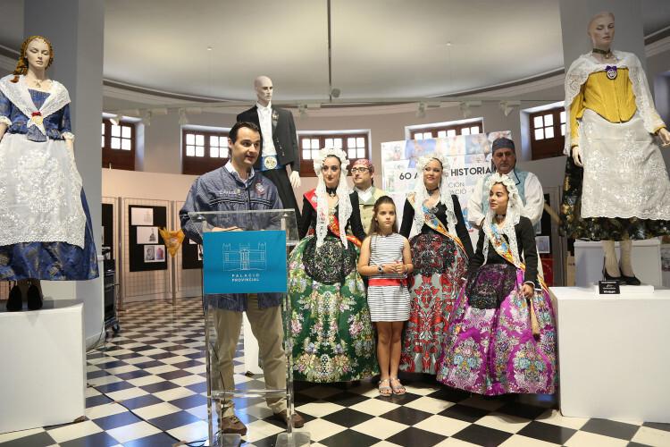 062016 inauguración exposicion 60 Aniversario Hoguera Renfe-Diputación 01