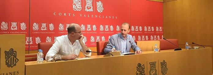 Alberto García y Alexis Marí.