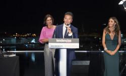 Arancha del Sol entregó el premio a Alfredo Bataller de Sha Welness Clinic