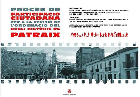 Cartel de la acción pública.