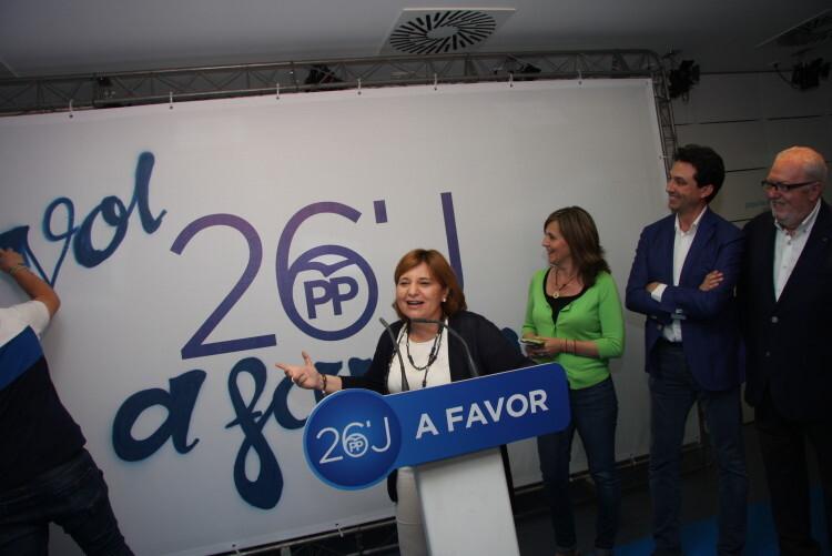 El Partido Popular de la provincia de Valencia ha dado esta noche el pistoletazo de salida a la campaña electoral  (2)