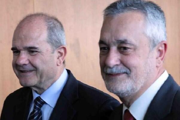 El juez procesa a Chaves y a Griñán por el caso de los ERE andaluces.