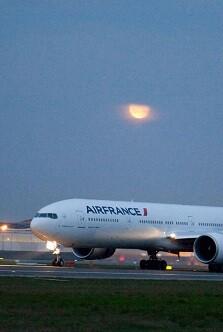 El porcentaje estimado de huelguistas es del 25 por ciento, según Air France.