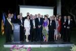 Equipo Distrital Rotary Internacional con Isidoro Alés