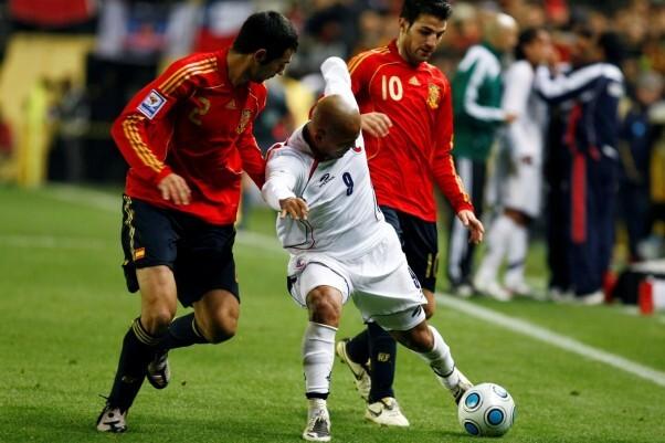 España cae derrotada ante Georgia 0-1.