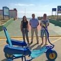 Hidraqua colabora con un proyecto para mejorar el acceso de personas con movilidad reducida a la playa de Xeraco.