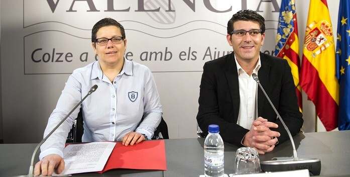 Isabel García y Jorge Rodríguez. (Foto-Abulaila).