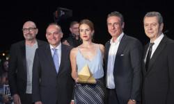Joan Calabuig entregó el premio al Club Moddos