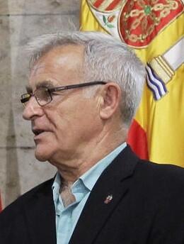 Joan Ribó, alcalde de Valencia.