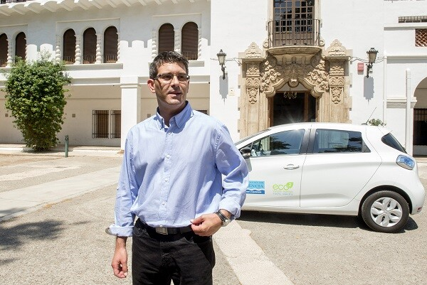 Jorge Rodríguez 'jubila' el Audi A8 de Rus que costó más de 160.000 euros a la Diputación. (Foto-Abulaila).