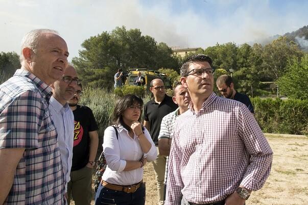 Jorge Rodríguez exige que la ley actúe con contundencia contra los que destruyen el patrimonio natural. (Foto-Abulaila).