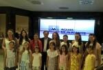 La Bellea del Foc y sus Damas visitan Aguas de Alicante.