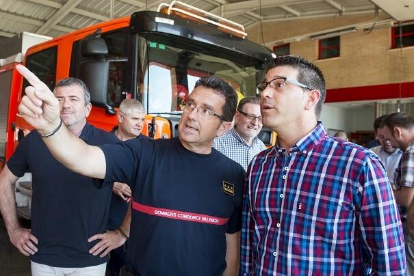La Diputación multiplica por cuatro la inversión en el Consorcio de Bomberos para garantizar la calidad del servicio. (Foto-Abulaila).