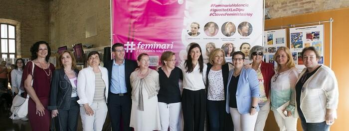 La Diputación reúne en su primer Feminario a 15 mujeres que reconstruyen el pensamiento feminista. (Foto-Abulaila).