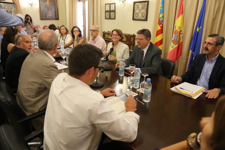 La Generalitat aprobará mañana un decreto de emergencia para hacer frente a los incendios forestales