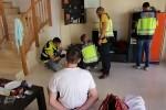 La Policía Nacional desarticula un grupo criminal dedicado al robo en residencias de verano en Alicante.