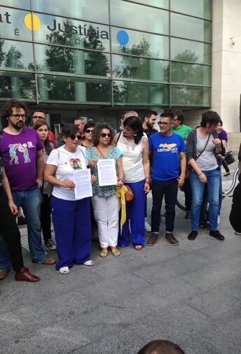 La denuncia se ha presentado hoy viernes a las 11.00 horas en la Ciutat de la Justicia de Valencia.