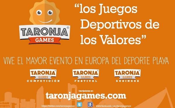 La playa de la Malvarrosa y el circuito 5K son de nuevo epicentro del deporte en Valencia con la primera edición de los Taronja Games.