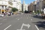 La plaza del Ayuntamiento se cerrará al tráfico el próximo domingo 26.